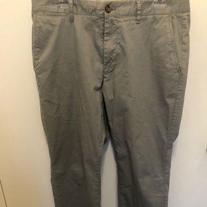 Men's Bonobos gray chino pants size 34/30